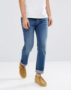 Синие джинсы слим Lee Jeans Powell - Синий