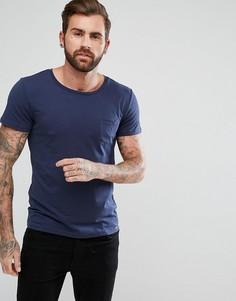 Футболка с карманом Lee Jeans - Темно-синий