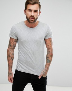 Футболка с карманом Lee Jeans - Серый