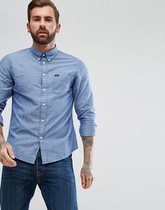 Оксфордская рубашка на пуговицах Lee Jeans - Синий