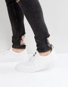 Парусиновые кроссовки T.U.K - Белый TUK