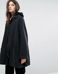 Джинсовая спортивная куртка Weekday Sarin - Черный