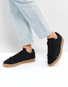 Черные замшевые кроссовки Nike Blazer - Черный