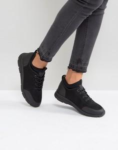 Кроссовки с сетчатыми вставками и шнуровкой G-Star - Черный