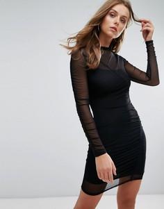 Платье мини Nobodys Child - Черный