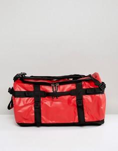 Маленькая красно-черная сумка дафл The North Face Base Camp - 50 л - Красный