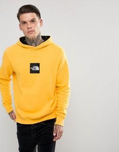 Худи желтого цвета без застежки с логотипом The North Face - Желтый