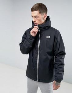 Черная утепленная непромокаемая куртка The North Face Quest - Черный