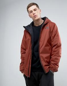 Коричневая утепленная непромокаемая куртка The North Face Quest - Коричневый