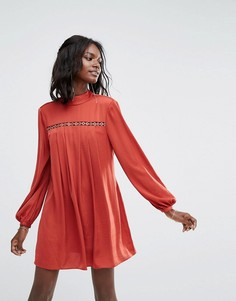 Платье мини The Jetset Diaries Siren - Красный