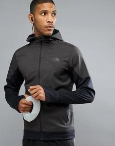Черная меланжевая куртка для бега The North Face Mountain Athletics Kilowatt - Черный