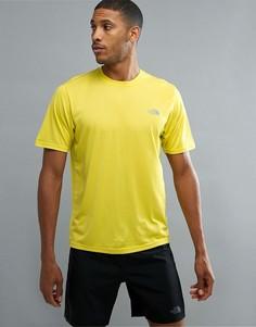 Желтая меланжевая футболка The North Face Mountain Athletics Reaxion Amp - Желтый
