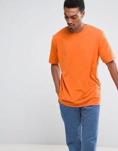 Футболка Weekday Frank - Оранжевый