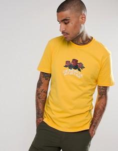 Жёлтая футболка с логотипом Criminal Damage - Желтый