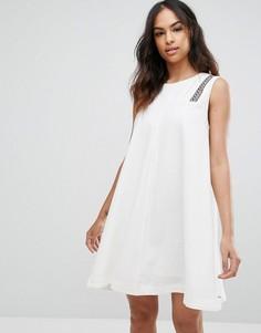 Платье А-силуэта Tommy Hilfiger Denim - Белый