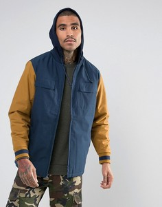 Куртка в стиле колор блок Vans V2NBH6O - Синий