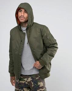 Всесезонная куртка Vans VA2WGHKCZ - Зеленый