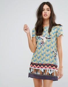 Платье с принтом Liquorish - Мульти