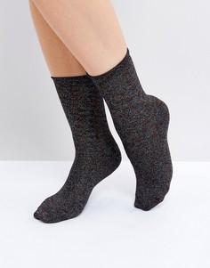 Блестящие носки Vero Moda - Черный
