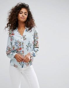 Рубашка с цветочным принтом Esprit - Мульти