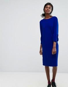 Платье с оборкой Essentiel Antwerp - Синий