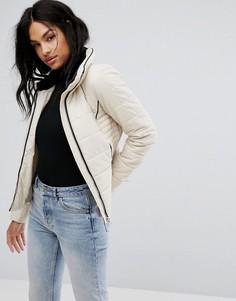 Дутая куртка Vero Moda - Кремовый