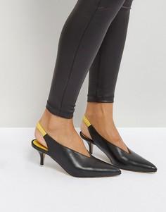 Туфли с ремешком через пятку Gestuz - Черный