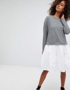 Платье-свитшот Noisy Maу - Серый