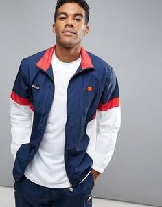 Спортивная куртка в стиле ретро Ellesse - Темно-синий