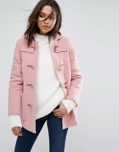 Дафлкот узкого кроя Gloverall - Розовый
