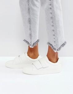Кроссовки из искусственной кожи Pieces - Белый