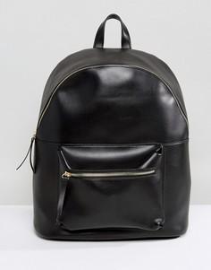 Рюкзак из искусственной замши Pieces - Черный