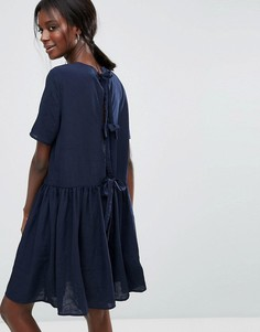 Платье с завязками на спине Y.A.S - Синий