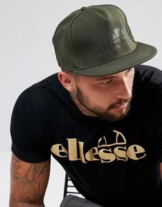 Зеленая бейсболка с логотипом Ellesse - Зеленый