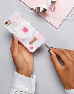 Чехол для IPhone с цветочным принтом Ted Baker - Серый