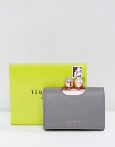 Маленький кошелек с отделкой Ted Baker - Серый