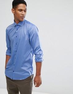 Облегающая рубашка Tommy Hilfiger - Синий