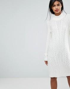 Платье-джемпер Vila - Серый
