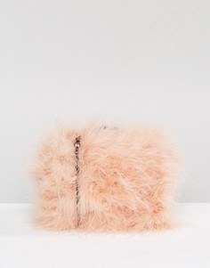 Сумка из искусственного меха Chi Chi London - Розовый
