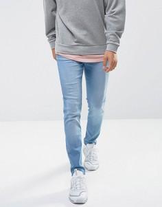 Синие джинсы скинни Waven Verner - Синий