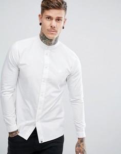 Белая рубашка с длинными рукавами Pretty Green - Белый