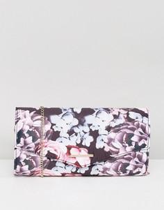 Сумка-клатч с цветочным принтом Lipsy - Мульти