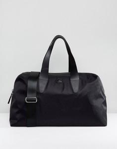 Черная жаккардовая сумка из нейлона Pretty Green - Черный
