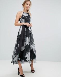 Платье с цветочным принтом Coast - Мульти