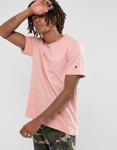 Розовая футболка с логотипом Champion - Розовый