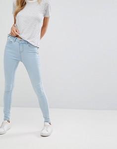 Мягкие джинсы скинни New Look - Синий