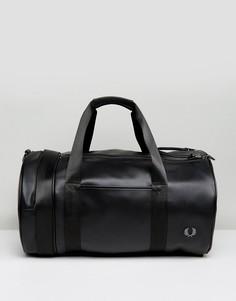 Черная сумка Fred Perry Pique - Черный
