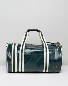 Зеленая сумка дафл Fred Perry - Зеленый