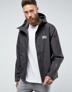Куртка на молнии с капюшоном Helly Hansen - Черный