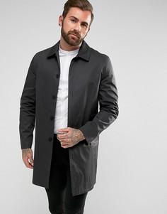 Черный однобортный макинтош New Look - Черный